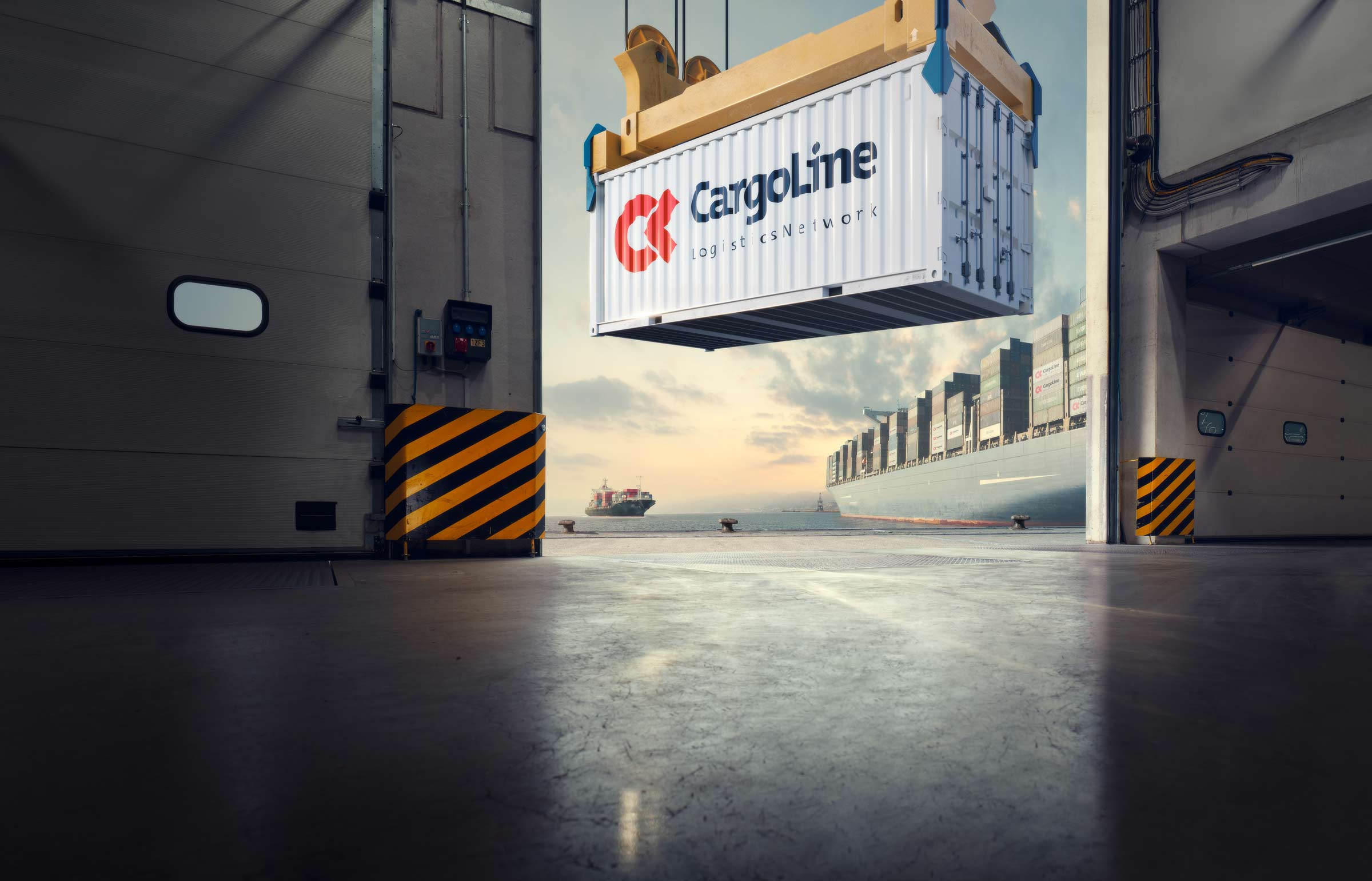 Cargoline logistics network postproduction